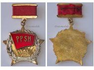 Albania Order Albanian Labor Party 40th Anniversary Medal Decoration People's Republic Communism Enver Hoxha