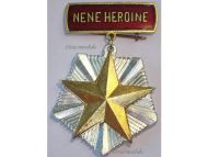Albania Mother Heroine Order Motherhood Glory Medal Decoration Albanian People's Republic Communism Hoxha