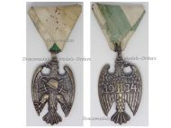 Austria Heimwehr Home Guard Force Military Medal Honor Starhemberg Eagle 1934 Decoration Award 1st Austrian Republic 1918 1938