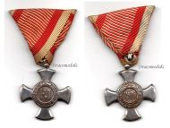 Austria Hungary WWI Iron Cross for Merit 1916 in Iron
