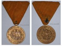 Austria WWI Firefighter's Long Service Medal for 25 Years 1st Austrian Republic 1918 1938
