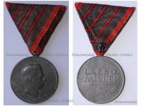 Austria Hungary WWI Wound Medal Laeso Militi for 3 Wounds Marked W&A