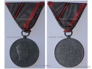 Austria Hungary WWI Wound Medal Laeso Militi for Single Wound Marked W&A