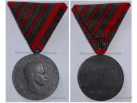 Austria Hungary WWI Wound Medal Laeso Militi for 3 Wounds