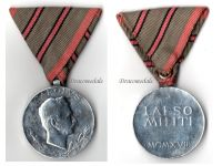 Austria WW1 Wound Medal Laeso Militi Austrian Military Badge WWI Kaiser Karl 1917 Great War W&A Aluminum
