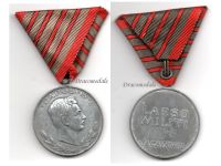 Austria Hungary WWI Wound Medal Laeso Militi for 4 Wounds