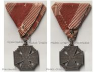 Austria Hungary WWI Kaiser Karl's Cross of the Troops 1917 Maker W&A