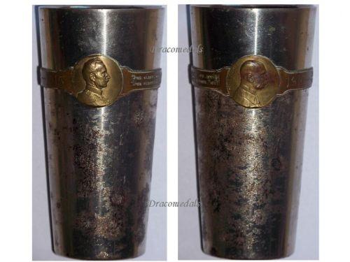 Germany Austria WW1 Kaiser Wilhelm FJ patriotic Cup Officers Goblet WWI KuK 1914 1915 Great War Large Type