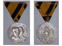 Austria Hungary War Independence Tirol Tyrol Military Medal 1809 1909 100th Anniversary KuK Austro Hungarian