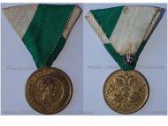 Austria Hungary 2nd Veteran'ss Day Commemorative Medal Vienna 1873 Kaiser Franz Joseph