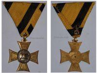 Austria Cross Military Long Service XII years 1867 1890 NCO Medal Kaiser Franz Joseph FJ KuK Decoration