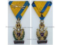 Austria Hungary Imperial Order Iron Crown 3rd Class Knight with War Decoration & Crossed Swords
