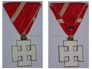 Austria Decoration Merit Austrian 1st Republic Silver Cross VII Class Civil Military Medal 1922 1938