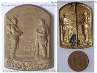 Austria Hungary WWI German South Army Cap Badge Watch on the Carpathians  1914 1915 by Swoboda & Gurschner