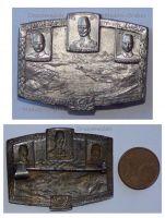 Austria Hungary WWI Dardanelles Gallipoli Defense Enver Pascha Cap Badge 1916 Turkish Ottoman Army