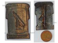 Austria Hungary WWI KuK Air Defense Artillery Cap Badge 1914 1917 by Arkanzas