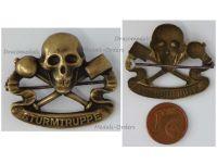 Austria Hungary WW1 Assault Troops Battalion Infantry Cap Badge KuK Patriotic WWI Great War 1914 1918
