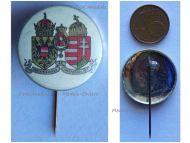 Austria Hungary WWI Austro-Hungarian Empire Coat Arms KuK Stick Pin Cap Badge Indivisibiliter ac Inseparabiliter  Great War 1914 1918