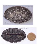 Austria Hungary WWI KuK 1st Cavalry Division Hussars Temesvar Cap Badge