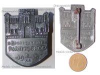 Austria Hungary WWI Brueckenkopf Ivangorod Cap Badge 1915