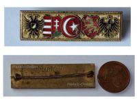 Austria Hungary Bulgaria Ottoman Empire Germany WW1 United Empires Coat Arms Cap Badge 1915 KuK Patriotic Pin Central Powers Great War 1914 1918