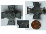 Austria Hungary WWI 7th Army Group Pflanzer Baltin Cross Cap Badge Kaiser Franz Joseph 1914 1915 by Gurschner