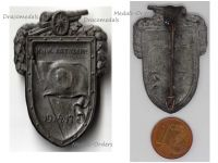 Austria Hungary WWI KuK Artillery St Barbara Cap Badge 1914 1917 1918 by Arkanzas