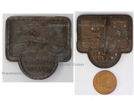 Austria Hungary WW1 Naval Air Corps Aviation Patriotic Cap Badge Hydroplane Seaplane Floatplane Navy Air Force WWI 1914 1918 by Arkanzas