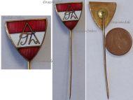 Austria Fatherland Front Patriotic Cap Badge Stick Pin 1st Austrian Republic 1933 1938