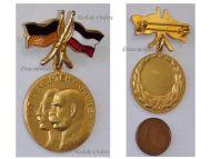 Austria Hungary WW1 United Empires Flags Kaisers Cap Badge Wilhelm Germany Franz Joseph Great War 1914 1918
