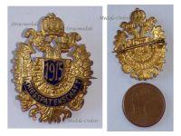 Austria Hungary WW1 Double Headed Eagle Patriotic Cap Badge 1915 KuK Great War Support Austro-Hungarian