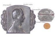 Austria Hungary WWI Kaiser Karl 1917 Cap Badge by Marschall