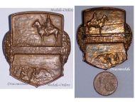 Austria Hungary WWI General Leopold Von Hauer Cavalry Corps Cap Badge