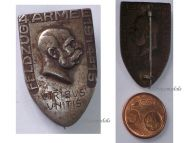 Austria Hungary WWI KuK 4th Army Cap Badge Eastern Front Campaign 1915 Kaiser Franz Joseph
