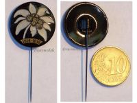 Austria Hungary WWI Edelweiss Stickpin Cap Badge 1914 1916 for the Alpine Troops