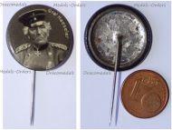Austria Hungary Germany WWI Field Marshal Gottlieb Graf von Haeseler Patriotic Cap Badge Stickpin