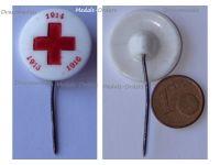 Austria Hungary WWI Red Cross Cap Badge Stickpin 1914 1915 1916