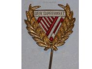 Austria Federal Association of Tapferkeit Bravery Medal Recipents Stickpin Badge 1st Austrian Republic
