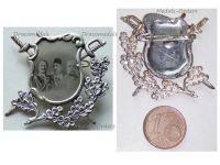 Turkey Germany Austria Hungary WWI Badge United Kaisers Sultan Mehmed Wilhelm Franz Joseph WW1 Great War 1914 1918