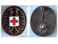 Austria Red Cross Doctor Medic Badge Military Medal Numbered 120 2nd Austrian Republic