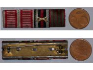 Austria WW1 Iron Cross Tapferkeit Bravery Laeso Militi Wound Germany Hindenburg Military Medal ribbon bar WWI 1914 1918 German