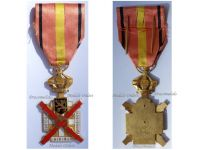 Belgium WWI Military Cross for the Occupation of Rhineland 1918 1929