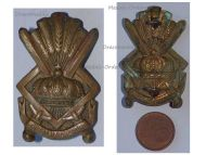 Belgium Royal Cadet School Cap Badge Belgian Army 1930s Interwar Era