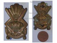Belgium Royal Cadet School Cap Badge Belgian Army 1930s Interwar Era