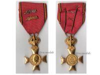 Belgium WW1 Cross Royal Federation Veterans King Albert 2 Palms Silver Bronze Military Medal 1909 1934 Belgian Decoration