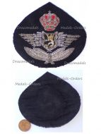 Belgium RBAF Belgian Royal Air Force Cap Badge for NCO 1950s