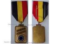 Belgium EU Medal European Confederation Former WWII Combatants Veterans Military Decoration Belgian Award