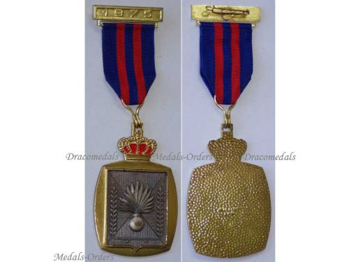 Belgium Gendarmerie Commemorative Medal Bar 1975 Belgian Military Police Decoration Award by WIlly Krafft
