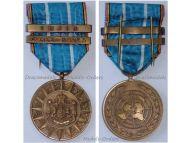 Belgium Korean War Service Military Medal 1950 1953 Bar Korea Imjin Belgian Commemorative Decoration Award