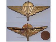 Belgium Para Commando Regiment Wings Beret Cap Badge Belgian Army Special Forces Officer's Insignia 1950s